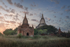 Shwesandaw Pagoda at Sunset, Bagan, Myanmar (ansharphoto) Tags: amazing ancient archaeological architecture asia asian attraction bagan beautiful buddha buddhism buddhist building burma burmese culture destination evening famous field heritage history iconic kingdom landmark landscape medieval monument myanmar old outdoor pagoda panorama religion religious sacred shwesandaw site sky southeast spiritual stupa sunset temple tourism town travel view world worship