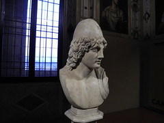 bust and window (Hayashina) Tags: mantova italy window bust statue sculpture history hww