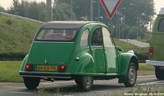 Citroën 2CV 1986 (Wouter Bregman) Tags: 64ddpv citroën 2cv 1986 citroën2cv 2pk eend geit deuche deudeuche 2cv6 club vert green bodegraven nederland holland netherlands paysbas vintage old classic french car auto automobile voiture ancienne française france frankrijk vehicle outdoor
