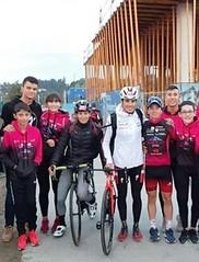 Team Clavería  en protour Pontevedra 5