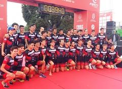 Team Clavería  en protour Pontevedra 1