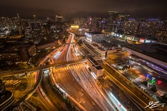 Overdressed for the Ding Ding (TVZ Photography) Tags: hdr highdynamicrange tsimshatsui hunghom mtr station road tunnel infrastructure kowloon lighttrails cityscape skyline buildings hongkong city night evening lowlight longexposure sonya7riii sony 1635mm sel1635gm