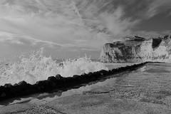 DSCF9402 (Martin P Perry) Tags: sea seas bay freshwater ocean wave waves storm