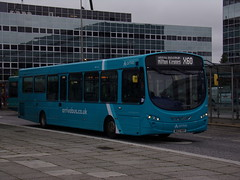 Arriva VDL SB200 (Wright Pulsar 2) 3869 MX12 KWY (Alex S. Transport Photography) Tags: bus outdoor road vehicle arriva arrivatheshires arrivamidlands vdl sb200 wright pulsar routex60 3869 mx12kwy