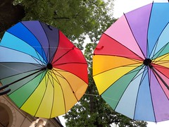 Sometimes again - MUSE, okay? (Ladyhelen_) Tags: words verses poem poetry walker city krakow umbrelas colorworld colors colorlover musiclover massiveattack balad umbrella cityart affirmation quotes colorful 🎨 🌈