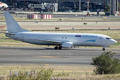 EI-STJ | ASL Ireland | Boeing B737-490(SF) | CN 28885 | Built 1997 | MAD/LEMD 25/09/2019 (Mick Planespotter) Tags: aircraft airport b737 2019 adolfosuárez barajas madrid madridbarajas nik sharpenerpro3 cargo freighter spotter aviation avgeek plane planespotter airplane aeroplane eistj asl ireland boeing b737490sf 28885 1997 mad lemd 25092019