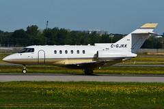 C-GJKK (SkyService) (Steelhead 2010) Tags: skyservice raytheon hawker 800xp bizjet yul creg cgjkk