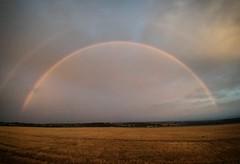 Photo of #rainbow this #morning #Scottish #weather #autumn