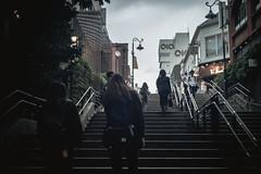 cloudy sometimes rain (N.sino) Tags: leica m9 summicron50mm kichijoji inokashirapark steps oioi 井の頭公園 曇り時々雨 階段 丸井 吉祥寺