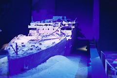 Titanic (goodfella2459) Tags: nikonf4 afnikkor50mmf14dlens cinestill800t 35mm c41 film analog titanic history sydney jamescameron nationalmaritimemuseum jamescameronchallengingthedeep manilovefilm