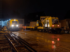 rainy night shift (Carsten Weigel) Tags: nachtschicht nightshift regen rain railway eisenbahn nrw carstenweigel panasonicg9 panasonic1260mmf3556
