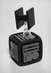 Micro Tie-Fighter (LegoHobbitFan) Tags: lego moc creation build model starwars tiefighter imperial space black deathstar