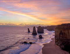 great ocean road (medo053) Tags: vacation art beach weather canon nice nikon relaxing ocean blue sunset sea sky outside photographer cloudy visit lovely drama melbroune
