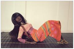 Barbie Fashionista (lichtspuren) Tags: mattel barbie fashionista hybrid doll madetomove goddess lichtspuren