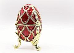 Faberge Egg in High Key (Through Serena's Lens) Tags: fabergeegg macro closeup highkey whitebackground canoneos6dmarkii egg faberge