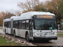 Winnipeg Transit #375 (vb5215's Transportation Gallery) Tags: winnipeg transit 2019 new flyer xd60 xcelsior