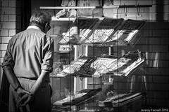 News of the World ? (zolaczakl) Tags: westonsupermare wsm lightshadow 2016 nikond7100 nikonafsnikkor24120mmf4gedvrlens newspapers people streetscenes mono monochrome blackandwhite england uk photographybyjeremyfennell jeremyfennellphotography september regentst