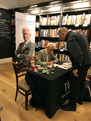 Tony Christie: The Song Interpreter - Sheffield 2019 (Dave_Johnson) Tags: tonychristie singer songwriter musician isthisthewaytoamarillo madeinsheffield thesonginterpreter signing signature autobiography writer author book conversation waterstones bookshop shop books orchardsquare sheffield southyorkshire yorkshire