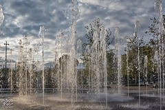 Fountains (nikhrist) Tags: fountains park snfcc water clouds trees nickchristodoulou