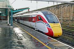 LNER Azuma  800110  Platform 1 Carlisle Citadel (Barrytaxi) Tags: lner azuma wcml diversion carlisle