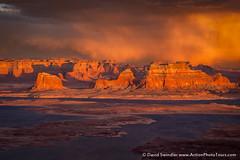 Always Bring Camera (David Swindler (ActionPhotoTours.com)) Tags: sunset storm utah lakepowell stormyskies virga alstrompoint