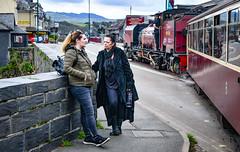 Nothing special here (robmcrorie) Tags: beyer garrett manchester 1958 steam loco ffestiniog welsh highland railway wales 138 nikon d850 locomotive train portmadog street running