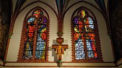 Church Windows (rainerpetersen657) Tags: church kirche sopot poland polska polen windows sony sonyalpha