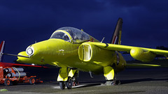 XR992 FOLLAND GNAT JETFEST (toowoomba surfer) Tags: nigtshoot aviation aircraft jet aeroplane