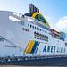 Waiting for the Gramaldi Ferry @ Ancona and Headed over to Igoumenitsa & onto Kavala-Greece.