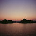 Sunset over Hạ Long Bay
