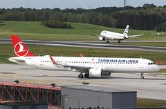 Turkish Airlines | A321-200NX | TC-LSH | HAM | 14.09.2019 (Norbert.Schmidt) Tags: ham airbus a321 hamburgairport turkishairlines a321neo tclsh