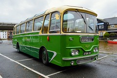 1726 2726CD (PD3.) Tags: isle wight iow hants hampshire england uk great britain newport godshill quay harbour bus buses museum preserved vintage running day rally autumn sunday 12 13 october 2019 southdown leyland leopard 1726 2726cd 2726 cd harrington