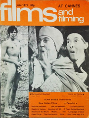 Films and Filming (1971) (BudCat14/Ross) Tags: movies filmsandfilming 1970s england cinema carryon vintagemagazines magazinecovers seminude funny