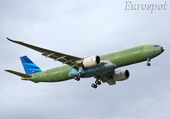 F-WWYC Airbus A330 Neo Garuda (@Eurospot) Tags: airbus a330 a330900 neo lfbo toulouse blagnac fwwyc pkghf 1928 garuda