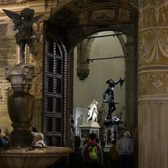 Florens 2014_DSC0826sq (gunnar.berenmark) Tags: firenze florens florence italien italy toscana tuscany stad city palazzovecchio art konst skulptur sculpture staty