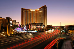 After Sunset (MRD Images) Tags: lasvegas vegas vegasstrip desert sunset sun sunlight nevada downtown city treasureisland casino resort wynn sky beauty october evening dusk