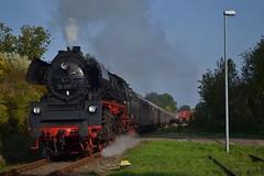 35 1097-1 in Meyenburg (k4t30) Tags: igschienenverkehrostfriesland igtraditionslok583047 meyenburg deutschereichsbahn baureihe2310 3510971 231097 veblokomotivbaukarlmarx