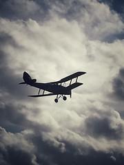 Tiger Moth (Looncolin) Tags: dehavilland gipsymajor britishaircraft aviation vintageaircraft biplane aircraft airplane tigermoth