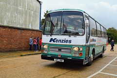 HFL14W (PD3.) Tags: kenzies hfl14w hfl 14w plaxton bedford isle wight iow hants hampshire england uk great britain newport godshill quay harbour bus buses museum preserved vintage running day rally autumn sunday 12 13 october 2019 coach