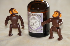 Save Water! Drink Gin! (Mc Steff) Tags: savewaterdrinkgin monkey47 gin affe affen monkey monkeys playmobil