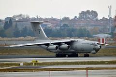 Pakistan Air Force R11-003 Ilyushin IL-78MP cn/0063466998 @ LTBA / IST 25-11-2018 (Nabil Molinari Photography) Tags: pakistan air force r11003 ilyushin il78mp cn0063466998 ltba ist 25112018