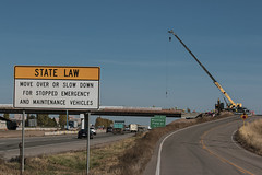 I-25 North @ E Vine Dr20191016_1 (coloradodotphoto) Tags: i25 fortcollins colorado expresslanes cdot dot highway structure bridge i25north construction