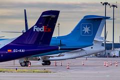 Tails EC-KAI Swiftair ATR 42-300(F) msn 141 (Florent Péraudeau) Tags: tails eckai swiftair atr 42300f msn 141 toulouse toulouseblagnac toulouselfbo tls lfbo planespotting plane spotter spotting flox papa fp florent péraudeau