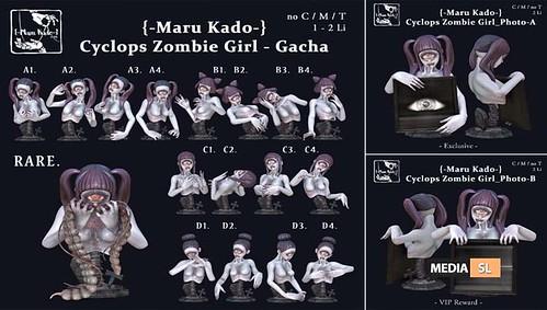 Cyclops Zombie Girl – Gacha