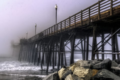 O'Side Pier Fog 04-10-16-19 (rod1691) Tags: as a dense fog rolled in to oceanside this afternoon i walked the pier get few shots with canon60d p