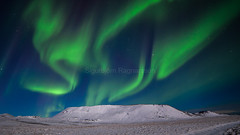 Northernlight (sigurbjorn67) Tags: aurora borealis iceland snow white winter northernlight sky green blue montain landscape landscapephotography