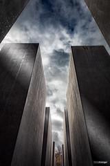 Testament (Holger Glaab) Tags: berlin holocaust memorial concrete architecture sky travel city urban fineart colour
