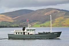 Sirius (Zak355) Tags: rothesay isleofbute bute scotland scottish sirius boat ship shipping vessel riverclyde