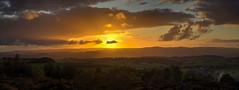 See Moor 16/31 (rmrayner) Tags: dartmoorsunset hdr devon sunset dartmoor sun clouds landscape countryside hills moor octoberchallenge 1631 panorama