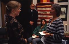 Liv Ullmann gir Trondheim kommunes kulturpris videre til Teaterhuset Avant Garden (1988)